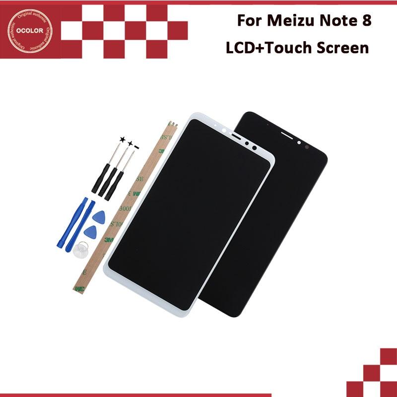 Ocolor pour Meizu Note 8 écran LCD et écran tactile 6.0 ''nouveau testé pour Meizu Note 8 accessoires de téléphone avec outils et adhésif-in Écrans LCD téléphone portable from Téléphones portables et télécommunications on AliExpress - 11.11_Double 11_Singles' Day 1