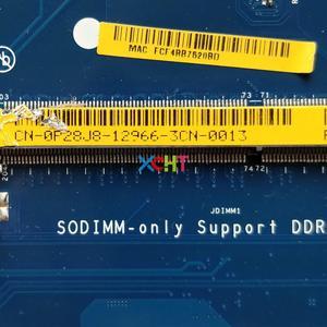 Image 3 - CN 0P28J8 0P28J8 P28J8 LA 9982P i7 4500U CPU R9 M200X 2G GPU für Dell Inspiron 15R 3537 5537 NoteBook Laptop Motherboard getestet
