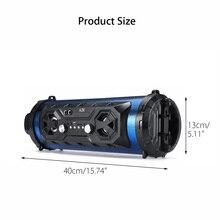 INSMA Hifi Portable bluetooth Speaker FM Radio Move KTV Wireless Surround Sound Subwoofer 20W Outdoor Speakers Boombox TF USB