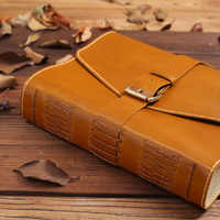 A4 Size High Quality handemade 100%Genuine leather Notebook Thick Notebook, Journal Book, Hand Account Gift Stationery