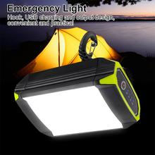 Flashlight Camping Tent Light USB Charging LED Portable Hanging Lamp Outdoor Emergency Flashlight  Lantern Camping Light handheld portable lantern tent light usb rechargeable 30w xml l2 led flashlight 3 modes emergency work inspection lamp