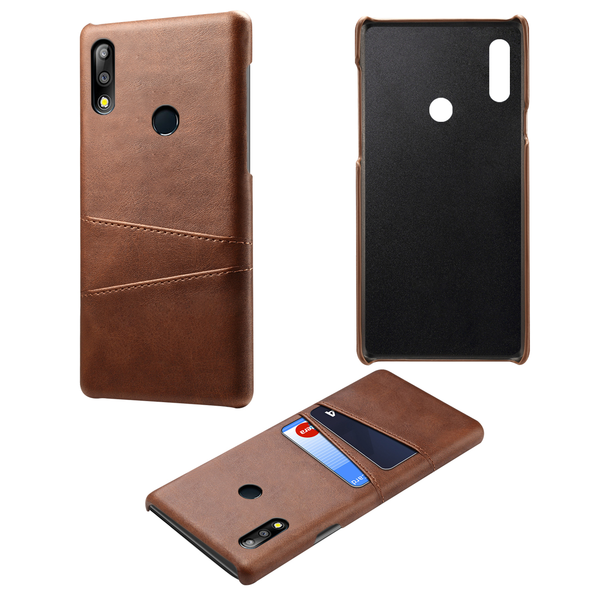 For Asus Zenfone Max M2 ZB633KL Case Luxury PU Leather Card Slot Holder Soft TPU Cover For Asus Zenfone Max Pro M2 ZB631KL Case