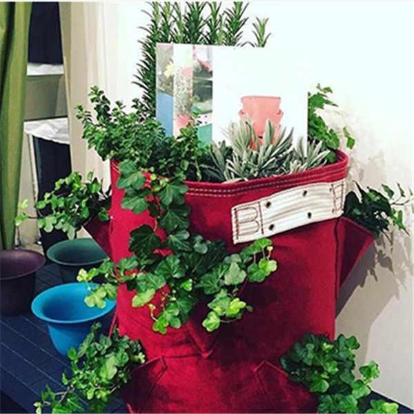 Мульти P. ockets картофеля сажалка для клубники мешок балкон травы овощи для дома сада улицы