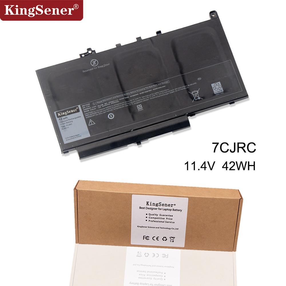 KingSener New 7CJRC Laptop Battery For DELL Latitude E7270 E7470 Series 21X15 021X15 11.4V 42WH