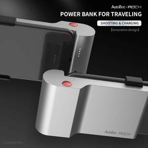 Image 2 - Brand New Portable 5000mAh Type C Battery Pack Mini Power Bank with Bluetooth Connect to Shoot Function Phone Charging Powerbank