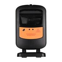 Aibecy 1D/2D сканер штрих-кодов Hands-Free всенаправленный USB сканер для считывания штрих-кода автоматический датчик регулируемое сканирование
