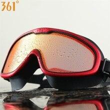 361 Men Women Swimming Goggles Large View Kids Water Glasses  Pool Anti Fog Adult Mirrored Swim No Leaking Eyewear