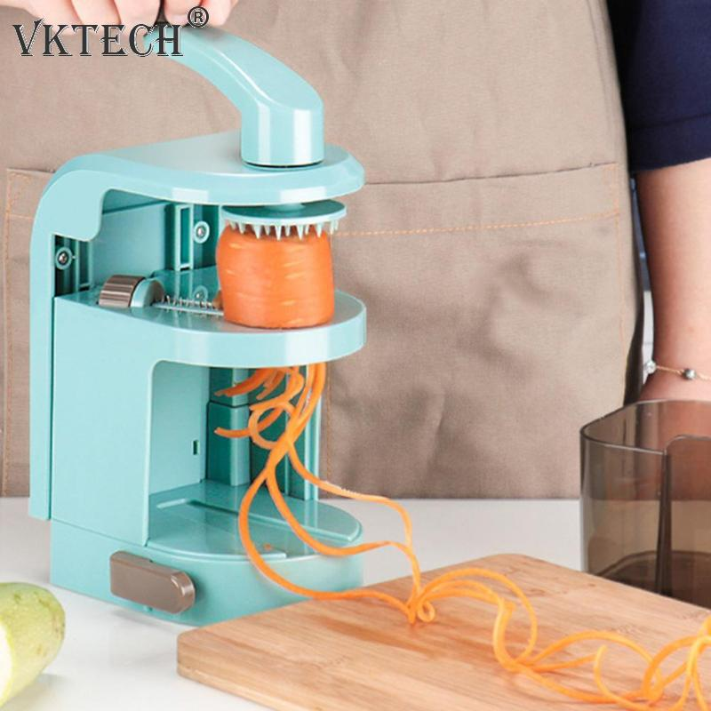 Multifuncional Manual verduras espiral pizca de patata zanahoria cortadora  vegetal de la fruta de herramientas de cocina Gadgets - a.sreelakodali.me f204b5600eb2