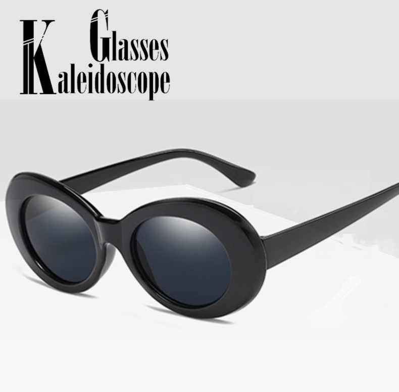 a8aa64c60737 Women Clout Goggle Sunglasses Retro Small Round Fashion Kurt Cobain Sun  Glasses Pink Red Glasses UV400