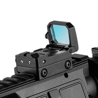 Hunting RMT Flip Red Dot Sight Pistol Scope Folding Reflex Red Dot Sight High quality 10 Level Brightness Adjustment Ak 47
