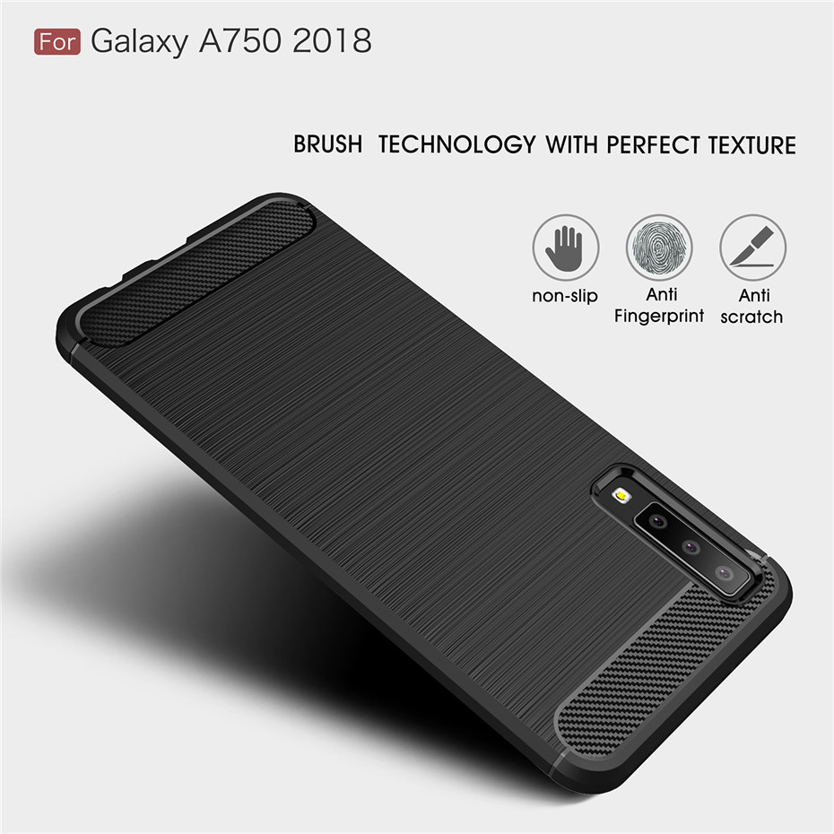 For Samsung A9S A8S A6S S10 E Case Armor Soft TPU Back Cover For Samsung J4 J6 A6 A8 Plus A7 2018 A750 Fundas Coque Case