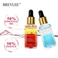Breylee 2pcs Whitening Essential Oils Hyaluronic Acid Moisturizer Essence Rose Firming Facial Serum Anti-aging Face Skin Care