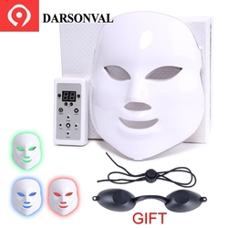 LED Mask PDT Therapy Lamp Led Mask Beauty Micro-current Anti Aging Machine Face Skin Rejuvenation Anti Wrinkle Phototherapy Spa