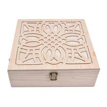 62 Slot Wooden Essential Oil Storage Box Solid Wood Case Holder Large Capacity Aromatherapy Essential Oil Bottle Organizer(China)