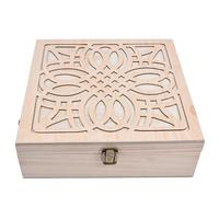 62 Slot Wooden Essential Oil Storage Box Solid Wood Case Holder Large Capacity Aromatherapy Essential Oil Bottle Organizer