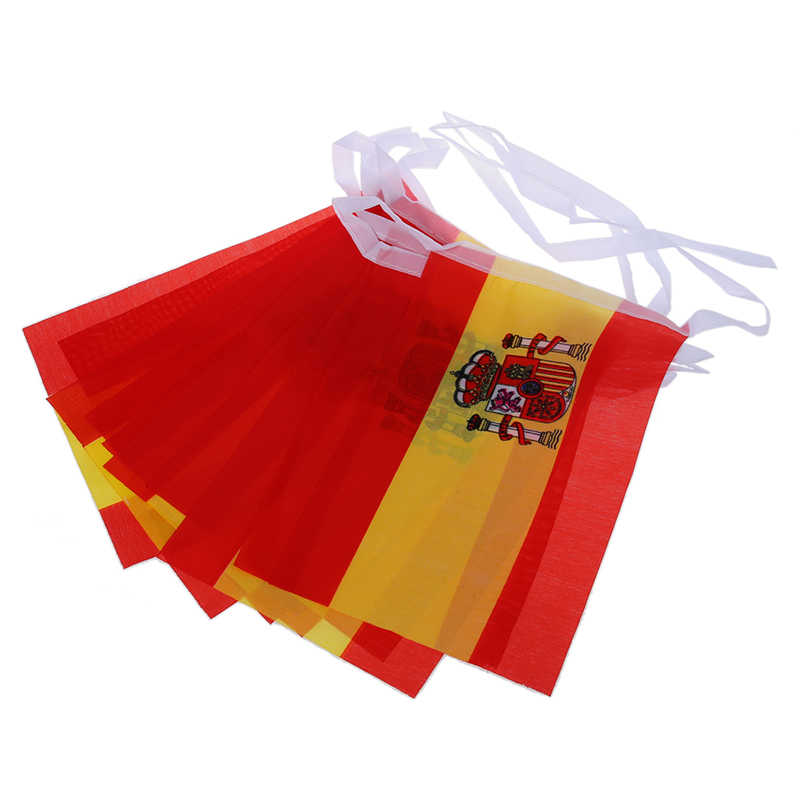 3 m Pride Passion Party Spain Bunting Small Flag Accessory