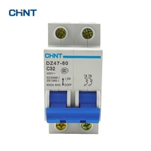 Chint Air Switch  Miniature Circuit Breaker DZ47-60 2P C32