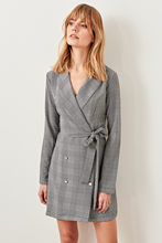 Trendyol Gray Jacket Dress TCLAW19AP0097()