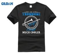 GILDAN I Am A Trombone Player T-shirt Trombone T-Shirt Patent Art Gift Trombone Patent Trombone Player Cotton T-shirt you had me at trombone logo men s sweat shirt