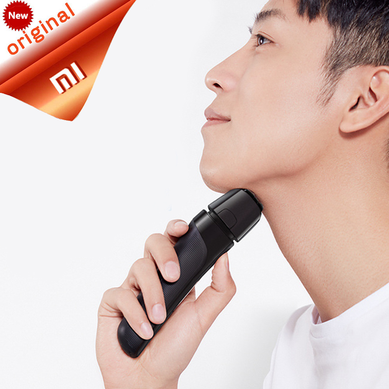 Original Xiaomi SMATE ST W482 IPX7 Waterproof Electric Shaver 4 Blade Shaver Razor Dry Wet Shaving