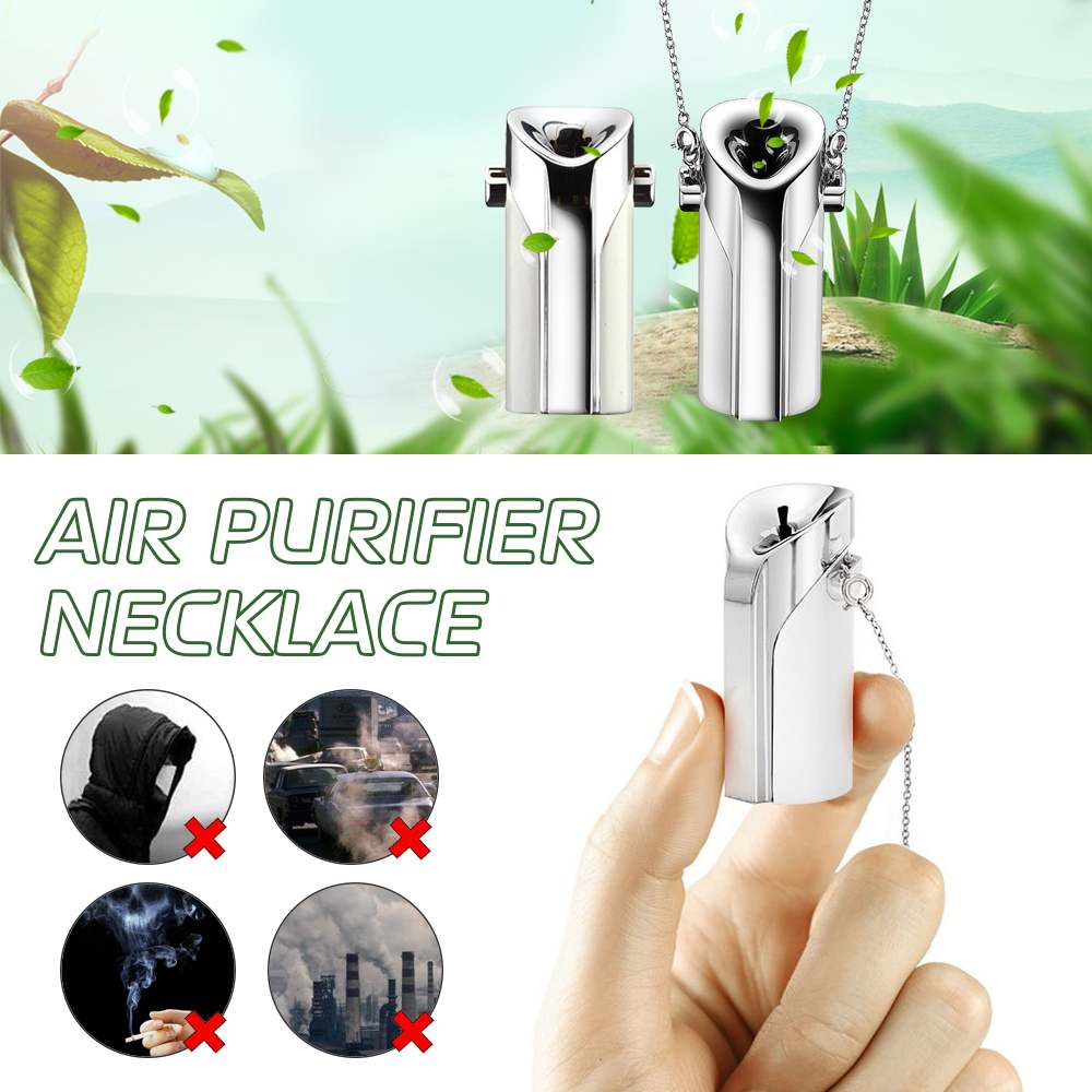 Portable  Air Purifier USB wearable necklace negative ionizer Anion personal  air purifier PM 2.5 cleaner Air FreshenerPortable  Air Purifier USB wearable necklace negative ionizer Anion personal  air purifier PM 2.5 cleaner Air Freshener