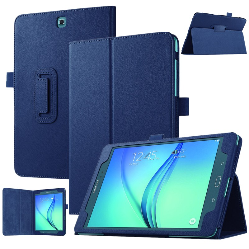 Litchi Pattern PU Leather Cover For Samsung Galaxy Tab A T350 Stand Case For Samsung Galaxy Tab A 8.0 T350 T355 8\