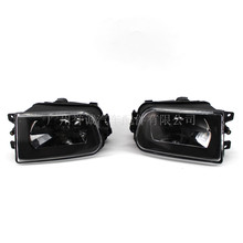Car External Lights Front Fog Light Assembly Fit for 99-2005 year BMW 5 series E39 fog lamp headlamp lamp 2pcs цена
