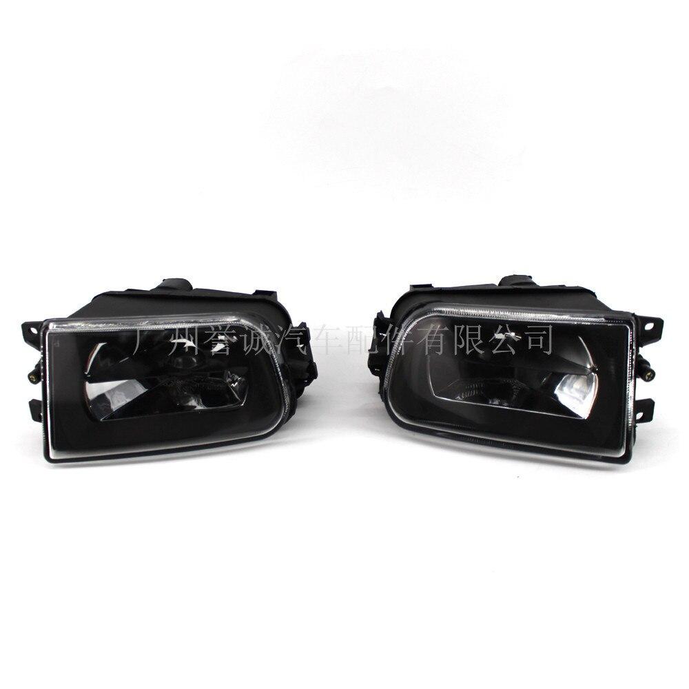 Ensemble de phares antibrouillard avant pour voiture de 99 à 2005 ans BMW série 5 E39 phare antibrouillard 2 pièces