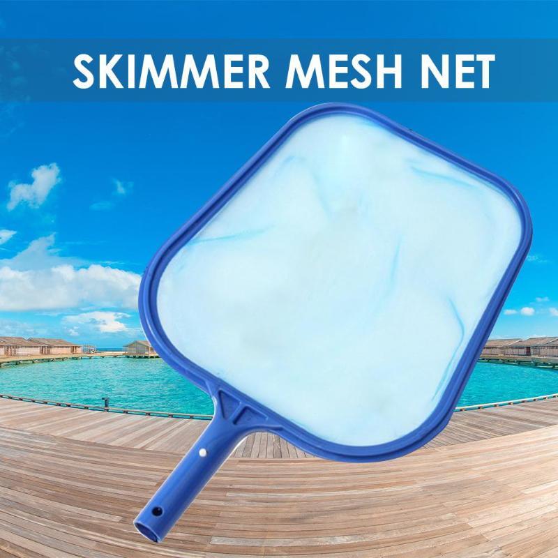 Fish Pond Skimmer Net Swimming Pool Cleaning Leaf Skimmer Mesh Frame Net For Cleaning Swimming Pool/salvaging Pool Water Garbage