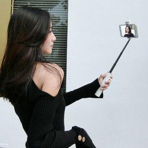 Image 3 - Soporte portátil para teléfono móvil trípode cámara con Bluetooth inalámbrico auto temporizador varilla de artefacto