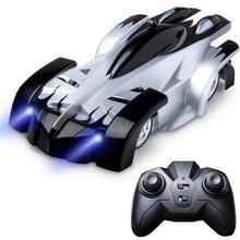 Настенный альпинистский Радиоуправляемый автомобиль с дистанционным управлением, антигравитационный потолочный гоночный автомобиль, электрические игрушки, машина, авто подарок на детский Радиоуправляемый автомобиль