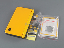 Cubierta de cobertura completa para Nintendo NDSi XL/LL, 7 colores, kits de botones, lente de goma de silicona para ndsitl LL