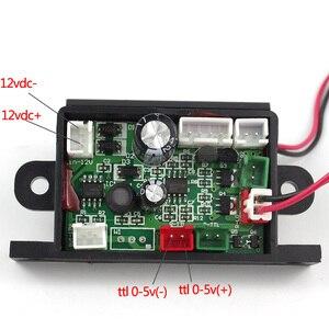 Image 5 - Focusable 150 mW 650nm 655nm 660nm 赤色レーザーモジュールダイオードと 12 V TTL