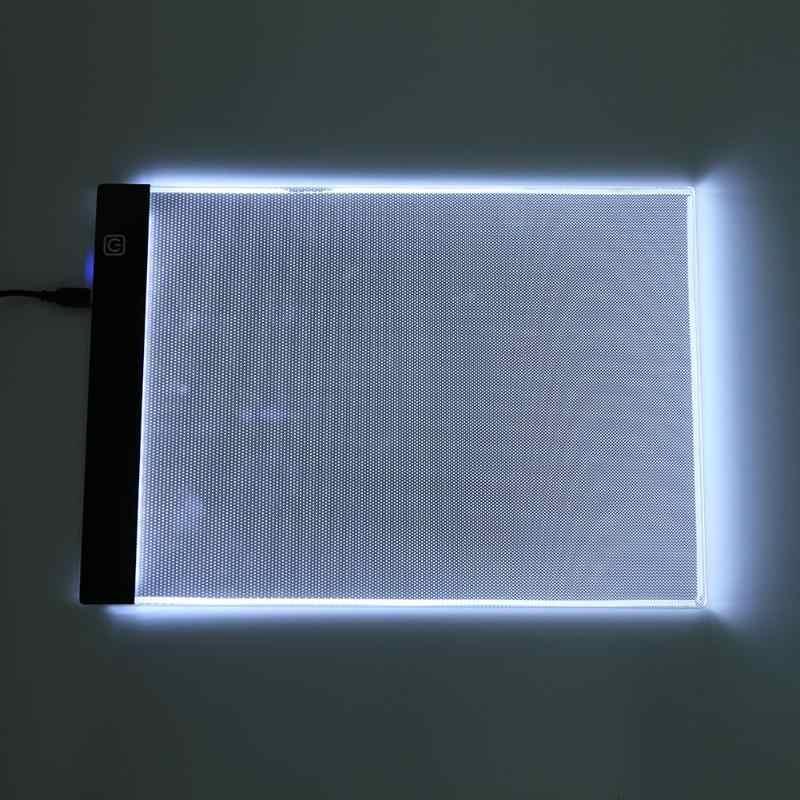 Светодиодный графический планшет, рисование, световой короб, распределительный щит, копировальные колодки, цифровой планшет для рисования Artcraft A4, копировальный стол, светодиодный планшет