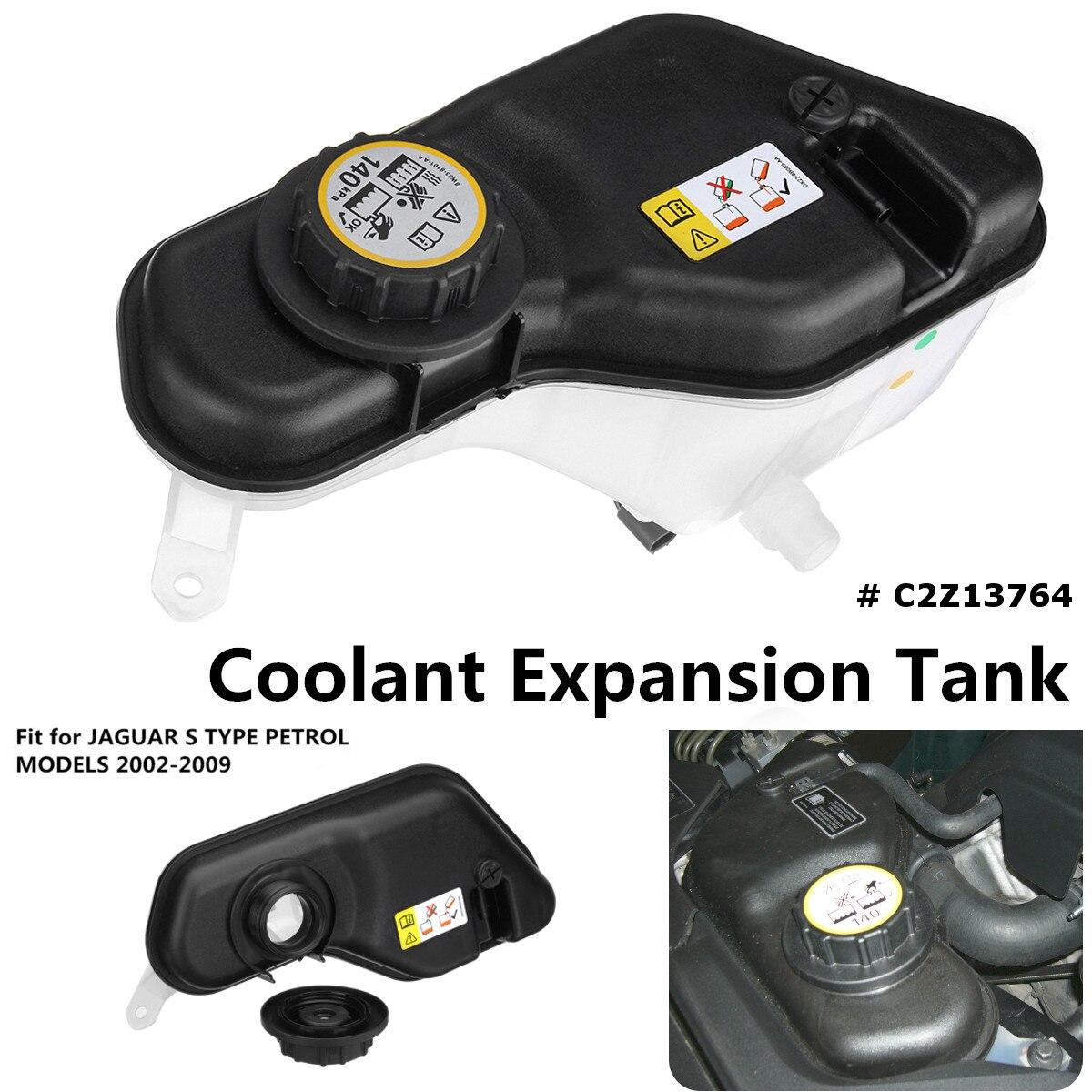 Vase de refroidissement d'expansion avec capteur et bouchon C2Z13764 pour JAGUAR S TYPE 2002-2009 modèles essence