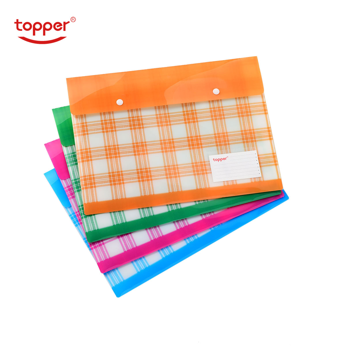 4pcs/set Freeshiping FC/A4 Size Document Bag Very Thick File Folders Filing Paper Storage Office School Supplies Print File Bag