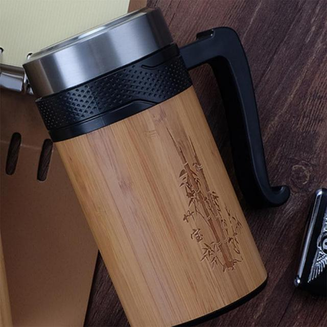 Creative Portable Eco-Friendly Stainless Steel Thermal Mug