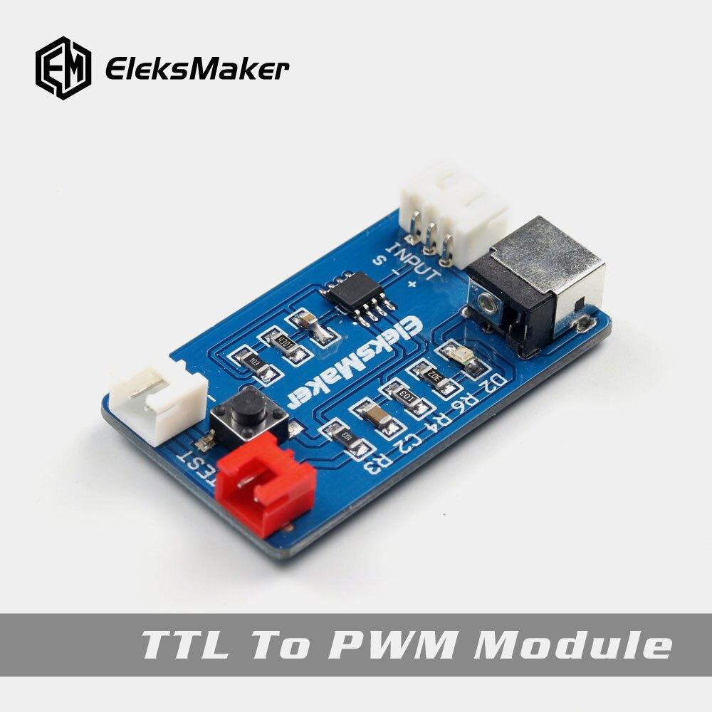 EleksMaker PWM TO TTL Module for Laser Machine Controller Board Mana SEEleksMaker PWM TO TTL Module for Laser Machine Controller Board Mana SE