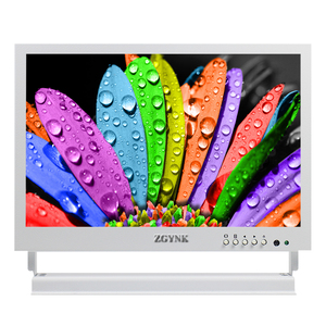New white 10 inch ultra-thin metal security monitoring display LCD HD HDMI industrial BNC monitor medical display