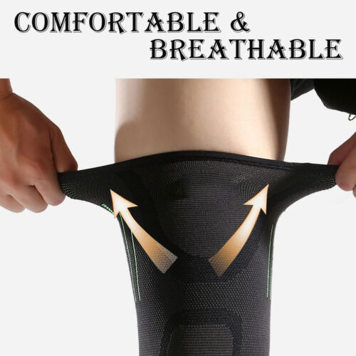 Adjustable Knee Support Brace Strap Compression Outdoor Sports Knitting Protector Ligament