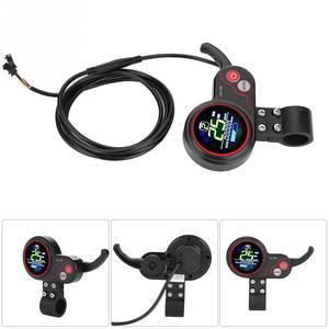 Image 5 - 24V 36V 48V 60V 250 W/350 W vélo électrique Scooter contrôleur LCD affichage panneau de commande avec commutateur de décalage e bike accessoire