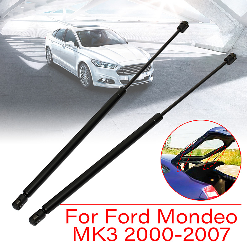 2Pcs Gas Tailgate Boot Struts for Ford for Mondeo MK3 Hatchback 2000 2001 2002 2003 2004 2005 2006 2007 1S71A406A10AB2Pcs Gas Tailgate Boot Struts for Ford for Mondeo MK3 Hatchback 2000 2001 2002 2003 2004 2005 2006 2007 1S71A406A10AB