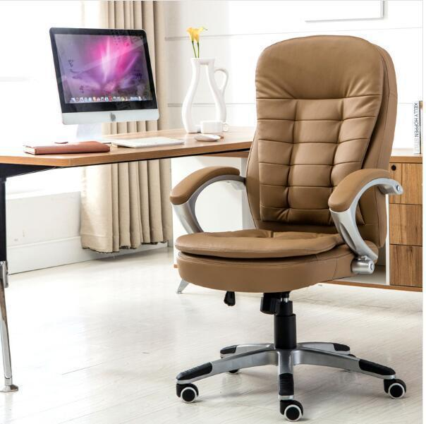 European To Home Screen Cloth Lift Swivel Ergonomic Computer Work In An Office Staff Member Chair