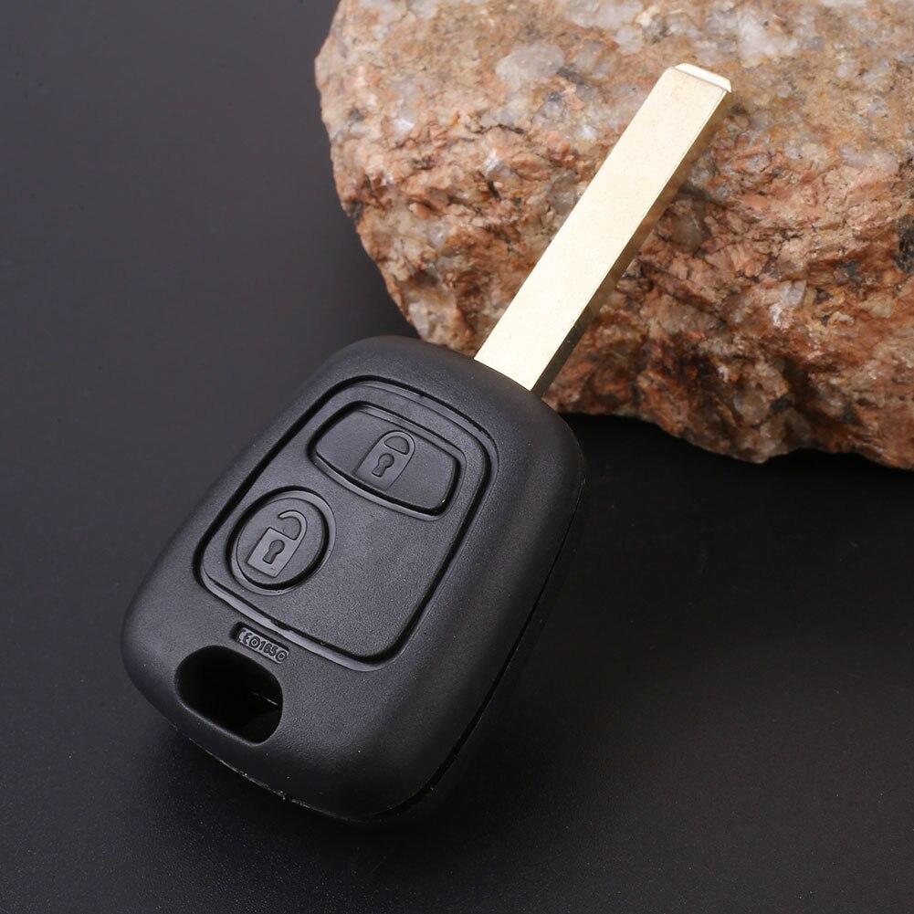 Авто 2 пуговицы Флип Дистанционное управление брелоки с лезвием для Toyota AYGO