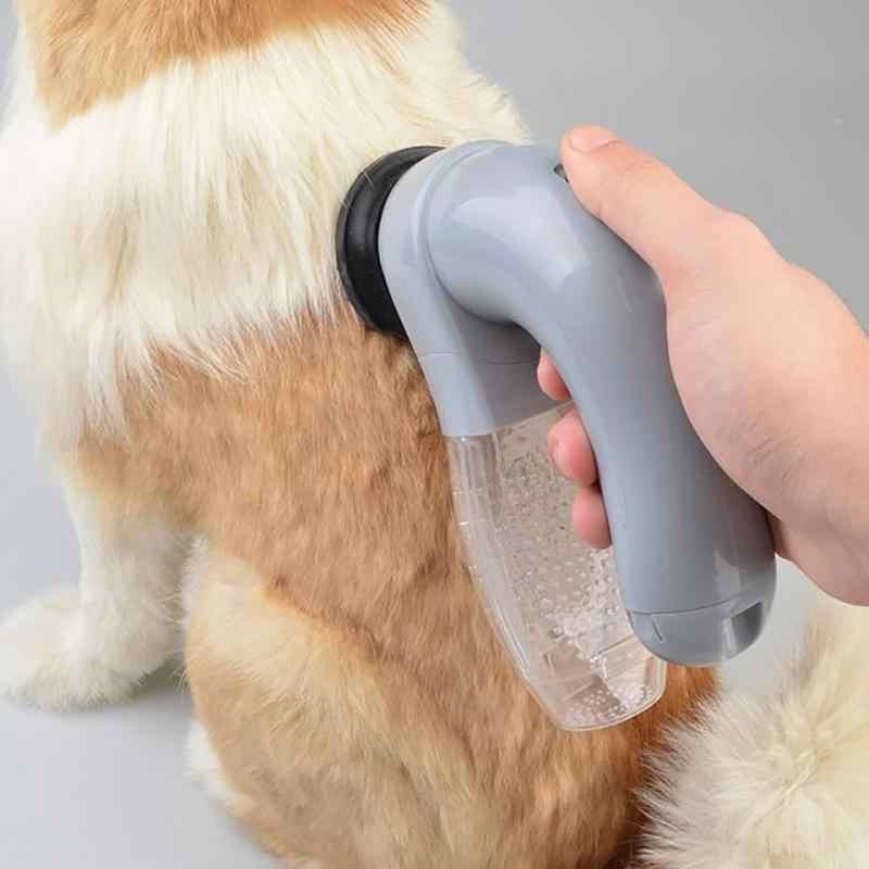 뜨거운 전기 애완 동물 머리 흡입 장치 마사지 고양이와 개 용품을 청소 휴대용 애완 동물 진공 청소기 전기 양모 흡수기