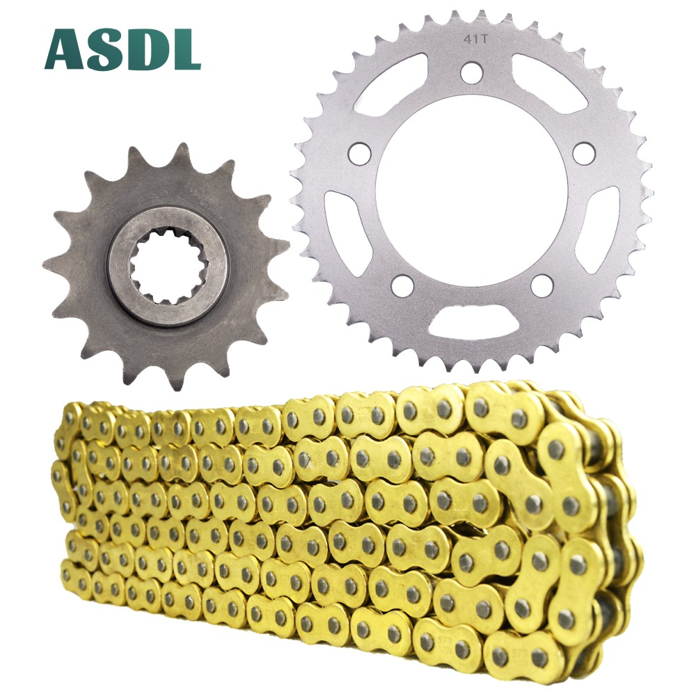 Honda CR250R 1988 1989 1990 1991 Gold X-Ring Chain Red Rear Front Sprocket Kit