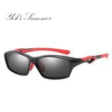 Yok's Polarized Sunglasses Men Brand Designer Sun Glasses Female Driving Rectangle Frame Sun Glasses Goggle With Box HN1194