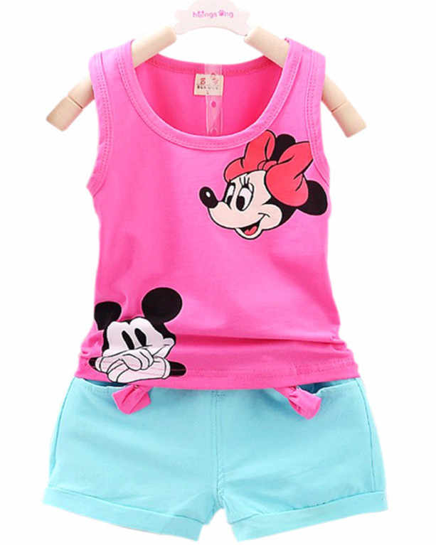 e6edc687575c7 Detail Feedback Questions about 2018 Summer cotton boys and girls casual  wear children's vest suit T shirt and pants 2pcs fashionable beach suit. on  ...