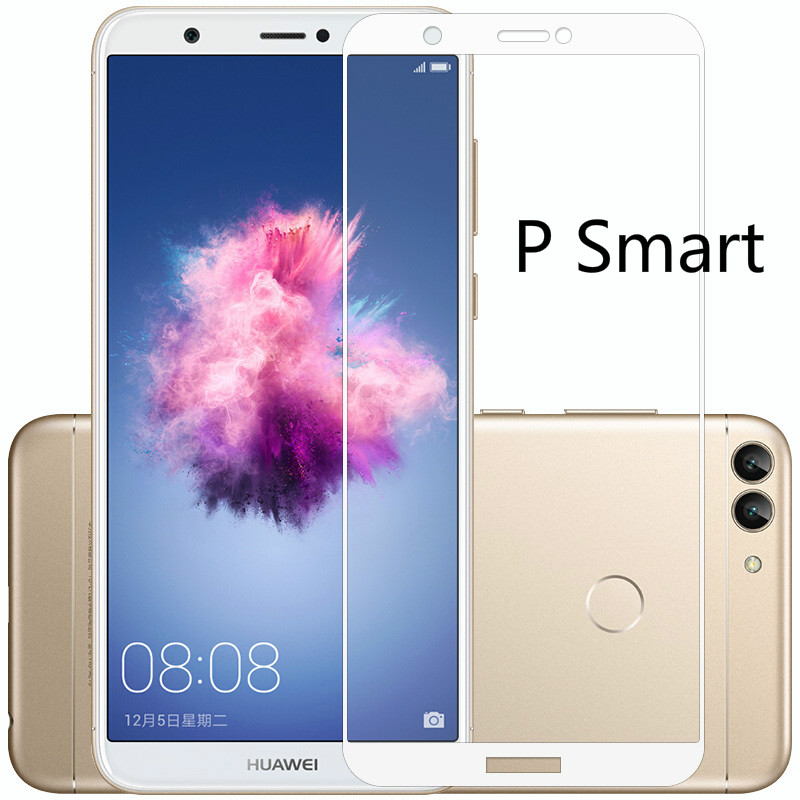 3D Full Cover Tempered <font><b>Glass</b></font> For <font><b>Huawei</b></font> P Smart Dual SIM Screen Protector For <font><b>Huawei</b></font> P Smart FIG-LX1 Protective Film Psmart image