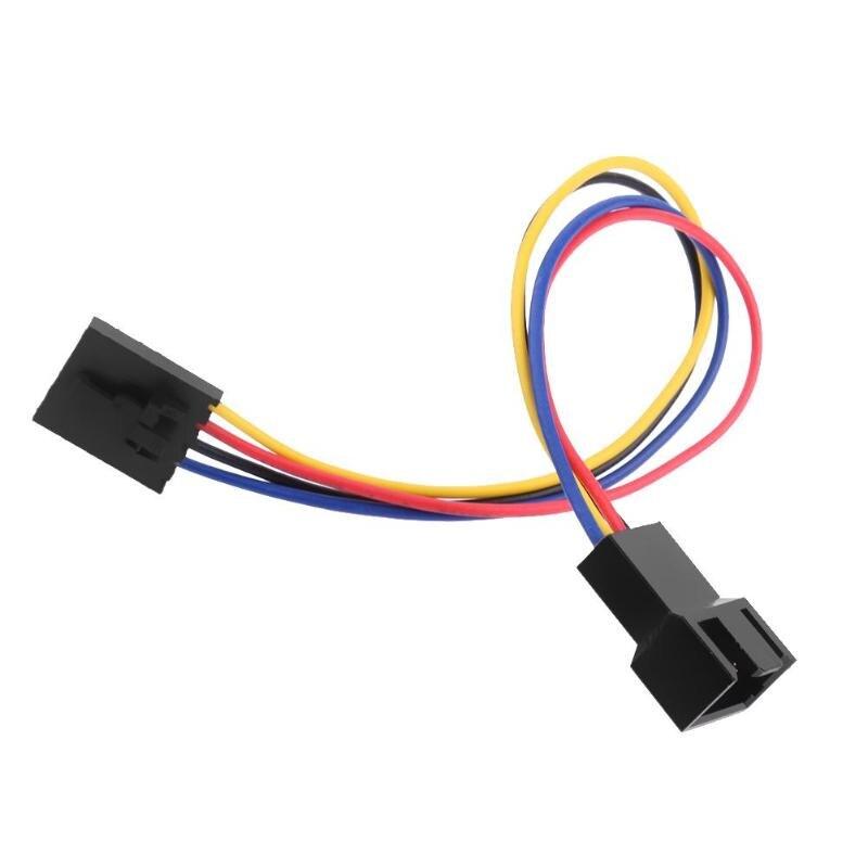 1 шт. 5Pin для 4Pin Вентилятор охлаждения разъем адаптера 18 см Удлинительный кабель провод для Dell стили 5 pin защелки стили портативных ПК